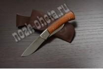 Охотничий складной нож Кабан - 2 | кованая сталь 95Х18, рукоять: сапеле