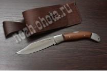Охотничий складной нож Овод | кованая сталь 95Х18, рукоять: сапеле