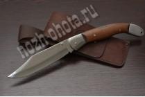 Охотничий складной нож Овод - 2 | кованая сталь 95Х18, рукоять: сапеле