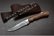 Охотничий складной нож Стриж | кованая сталь 95Х18, рукоять: сапеле
