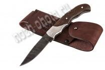 Охотничий складной нож Стриж | дамасская сталь, рукоять: венге