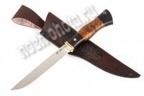 Якутский нож | порошковая сталь Bohler М-390 (Австрия)