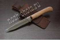 Охотничий складной нож Егерь | кованая сталь 95Х18, рукоять: орех
