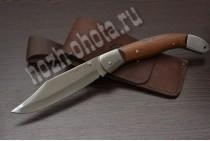 Охотничий складной нож Овод - 2   кованая сталь 95Х18, рукоять: сапеле