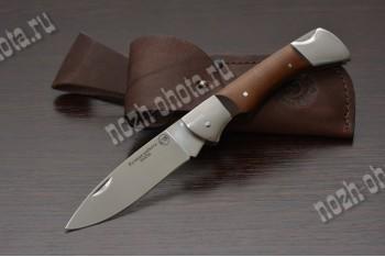 Охотничий складной нож Кабан | кованая сталь 95Х18, рукоять: сапеле