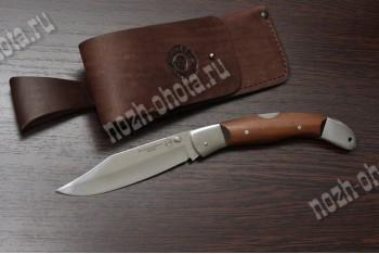 Охотничий складной нож Овод   кованая сталь 95Х18, рукоять: сапеле