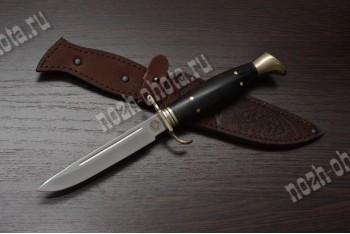 Финка НКВД | американская сталь D2, рукоять: чёрный граб