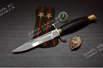 Финка НКВД | кованая сталь 95Х18, рукоять-черный граб