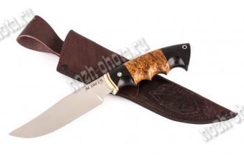 """Охотничий нож """"Дербник""""   порошковая сталь Bohler М-390 (Австрия)"""