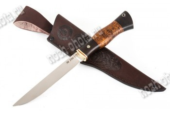 Якутский нож   порошковая сталь Bohler М-390 (Австрия)
